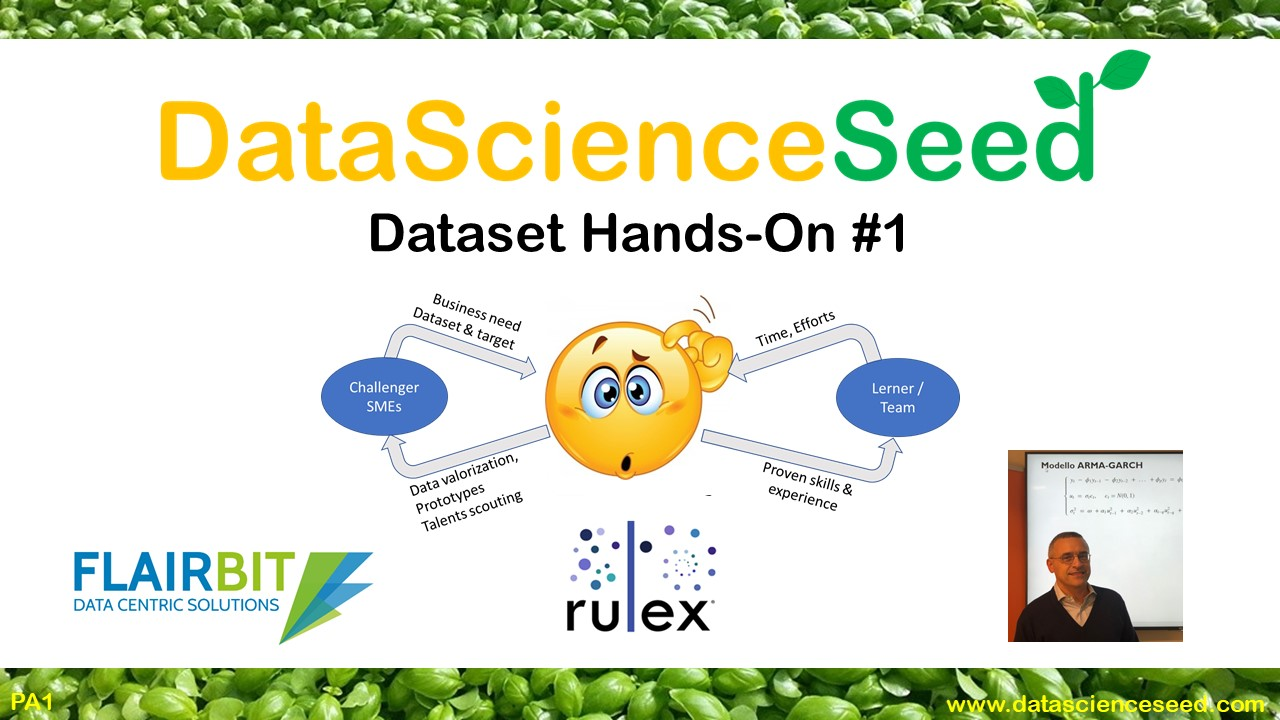 DataScienceSeed Hands-ON #1