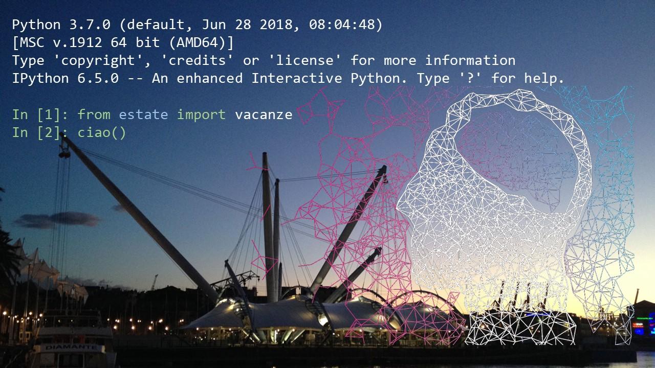buone vancanze data science machine learning ai python